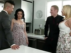 Husband Commands His Shy Wife To Poke A Total Stranger