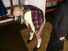 Schoolgirl caned 2