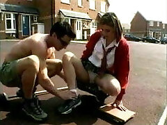 British Schoolgirl Likes Older Boy