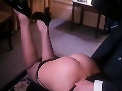 Antique spanking leads to 3 way