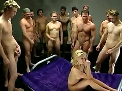 Canadian girls in hot early 2000s gangbang vid - Group Sex girl 34