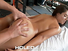 Sexy Workout & Anal Invasion sex in gym