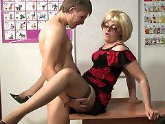 Russian Mature Teacher