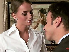 Mind-blowing nympho Ashlynn Brooke has a history of seducing other women's gents