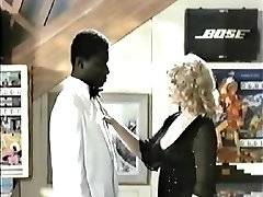 Retro Interracial Ash-blonde Porno 1