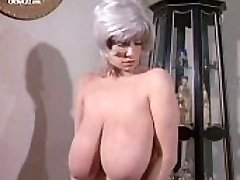 Huge-chested Buxom Morgan nude from Deadly Weapons