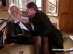 Silvia Saint Fucks the Lawyer and Strokes His Cum