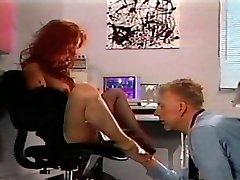 Redhead antique sole fetish desire