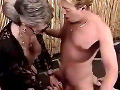 Grandmothers urinate on
