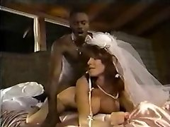 White Bride Ebony Manhood