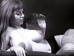 Vintage Big Baps Boobs Puffy Nipples Bush
