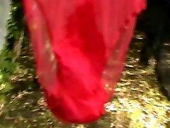 antique nylon slips and underpants
