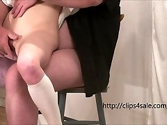 The young fuckslut gets fingered and fucked by an old man