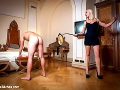Brace yourself for the first installment of Maitresse Madeline and Lorelei Lee's Series: Eastern European Expeditions!!  Good American slaveboys are hard to find, so Maitresse Madeline and Lorelei Lee go to Europe to search for nobel and obedient slaves. Upon landing, they pick up a couple pieces of dick meat to take back to their apartment and begin testing right away. How can one prove they are worthy of the attention from two of the world's top dominatrices?  By taking paddling, choking, spanking, CBT, Edging, tease and denial, anal strap on fucking, prostate milking, and by holding ones load until the body trembles and you are reduced to a pathetic man whore, begging for release.