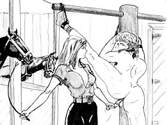 hentai femdom strapon