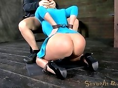 Mellanie Monroe is a dick sucking champion. We aim to put that title, and the throat that earned it, to the test. We have 10 inches of BBC on hand to push her limits to the absolute max. Both ends of her are going to be used, she will be vibrated and violated, and she will cum until she barely knows where she is. It is all Bondage and Rough Sex at Sexually Broken. As much as Mellanie can handle.