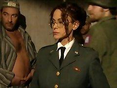 Horny prisoners penetrating their wardress