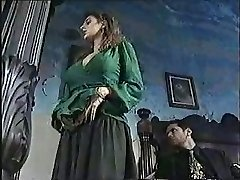 Sexy girl in old-school porn movie 1