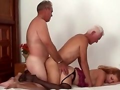 Mature Bi-curious Couple 3some