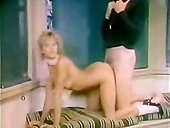 Retro woman Humped by Gym Coach