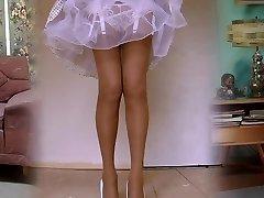 1950's Najlon Nogavice Legshow