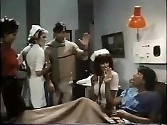 Medicinska sestra Parker obravnava bolnika, da blowjob