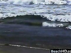 vintage vitun rannalla