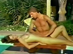 Bikini Honey's Pussy Stretched Outdoors