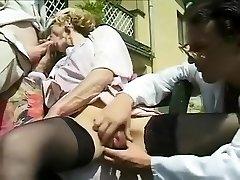 Hottest amateur Outdoor, Mature porn video