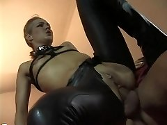 Linda Dolce as a submissive superslut visiting ominous archbishop