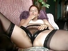 Horny homemade Solo Girl, Stockings xxx video