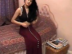 ब्रिटिश भारतीय लड़की शबाना कौसर रेट्रो अश्लील