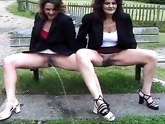 mix of British pee ladies