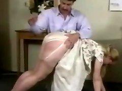 Freche Sekretärinnen Woche Nylon Höschen