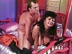 Paki Aunty is tired of Tiny Japanese Paki Dick so goes for Gigantic Western Cock