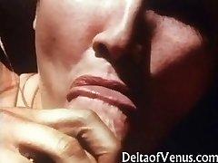 Reti Vintage POV Sekss - franču Meitene, 1970