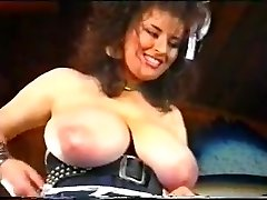 Vintage fitting bras beach an big funbags