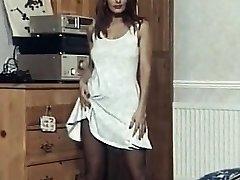 Hayal - vintage striptiz dansı naylon çorap topuklu