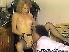 Klasični retro Vintage klasični porno zvijezda