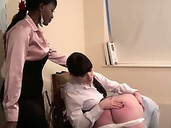 Domina Knows Finest - Strict woman schoolteacher spanking