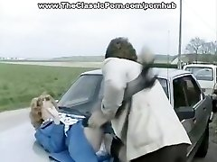 Accident flick of hard outdoor lovemaking