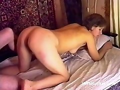 Russian porn romp on the bed ussr retro