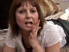 Granny loves fake penis