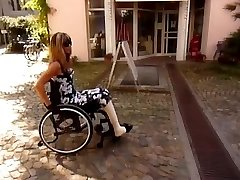 Milf, DBK Amputee, Cast Leg