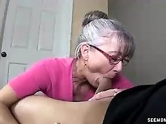 Mommy Litterally Salivates To The Young Hard Prick