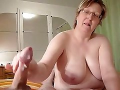 homemade, chubby granny wanks meatpipe