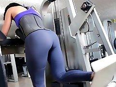 Fitness hot ASS hot CAMELTOE 90