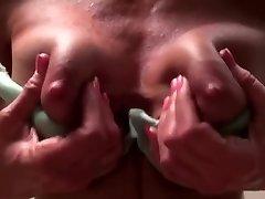 Mature next door stripping and masturbating
