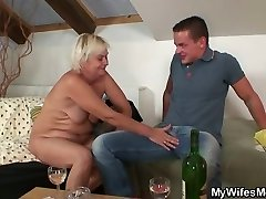 Home party with her mom goes highly bad