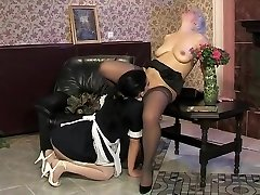 Hottest Amateur movie with Lingerie, Stockings scenes
